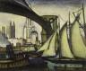 Samuel Halpert / Brooklyn Bridge / 1913
