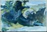 Hopper, Edward / (Landscape: Hills and Trees) / (1926)