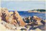 Hopper, Edward / (Rocks and Cove) / (1929)