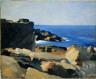 Hopper, Edward / Square Rock, Ogunquit / (1914)