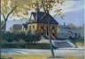 Hopper, Edward / (Small Town Station) / (1918)-(1920)