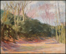 Hopper, Edward / Trees in Sunlight, Parc de Saint-Cloud / (1907)