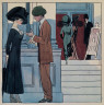 Hopper, Edward / (A Theatre Entrance) / ca. 1906-ca. 1910