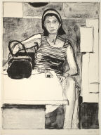 Seated Woman (from the Portfolio 10 West Coast Artists)