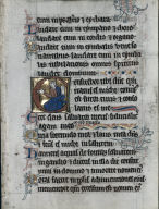 [Pair of Leaves from a Psalter: Initial C: David seated, with a Book, Pair of Leaves from a Psalter: Initial E: Pointing Prophet, Initial E with a Prophet Pointing: Excised Leaf from a Psalter]