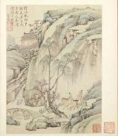 Album of Seasonal Landscapes: Traveling through Qing and Chu (No. 1)