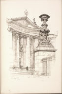 Twenty Lithographs of Old Paris: Le Vase du Panthéon, Paris
