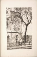 Twenty Lithographs of Old Paris: L'Horloge, Paris