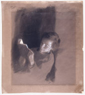"Study for ""The Boy Lincoln Reading"""