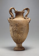 Double-Handled Vase with Relief of Sacrifice to Venus