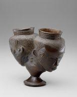 Beaker in Form of Two Heads