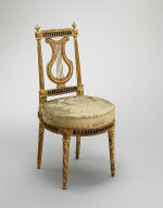 Lyre-Back Side Chair