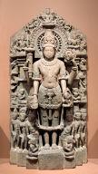 Vishnu and attendants
