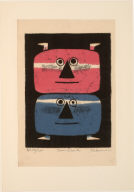 Twin Devils from the Portfolio Eleven Prints by Eleven Printmakers