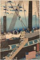 Foreign Ships in Yokohama Bay