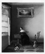 Lady Seated at a Work Table