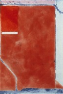 Small Red, from the group, Eight Color Etchings, 1980
