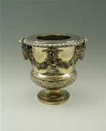 Silver-Gilt Wine Cooler (One of a Set of Four)