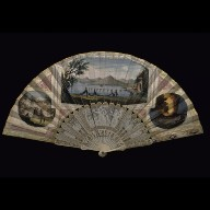 SOUVENIR FAN from the Bay of Naples