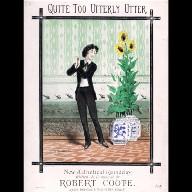 SHEET MUSIC for 'Quite Too Utterly Utter'