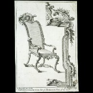 DESIGNS for a chair and picture frame