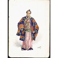 COSTUME DESIGN for a Japanese Gentleman
