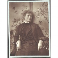 PHOTOGRAPH of the actress Ellen Terry