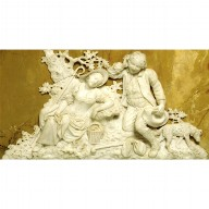 MARBLE RELIEF of a Shepherd and Shepherdess