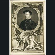 ENGRAVING of Thomas Howard, 4th Duke of Norfolk