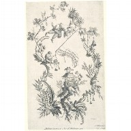 ENGRAVING from 'A New Book of Chinese Ornaments'
