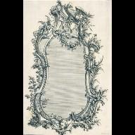 DESIGN for a pier glass (mirror)