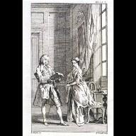ILLUSTRATION for 'Pamela' by Samuel Richardson