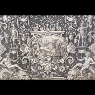 ENGRAVING Perseus and Medusa