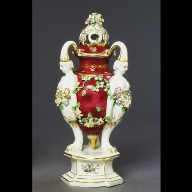 PERFUME VASE (one of a pair)
