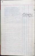 Artist's ledger - Book III: P. 10 notes