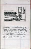Artist's ledger - Book III: P. 61 FOUR LANE ROAD
