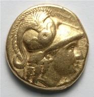 Stater: Athena (obverse)