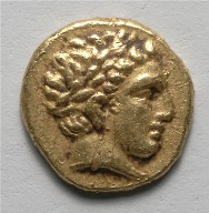 Stater: Head of Apollo (obverse)