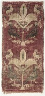 Palmettes and Birds from a Tunic or Curtain