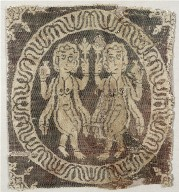 Nude Female Dancers from a Tunic