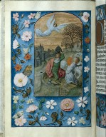 Hours of Queen Isabella the Catholic, Queen of Spain: Annunciation to the Shepherds, fol. 131 (verso)