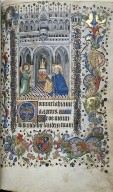 Hours of Charles the Noble, King of Navarre (1361-1425): The Annunciation (Matins), fol. 29 (recto)