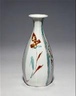 Vase with Plant Designs
