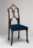 Side Chair: Gothic Revival Style