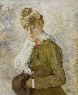 Woman with a Muff