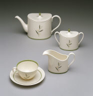 'Ovide' shape teapot with 'Westwood' pattern