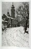 Church at Grinzing, Vienna--Grinzing, View from the Artist's Garden