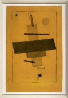 Composition of Combined Suprematist Elements
