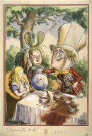 The Mad Tea Party, cartoon design for Life Magazine