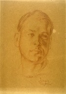 Portrait Sketch of George T. Eggleston